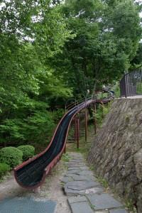 立石公園のすべり台