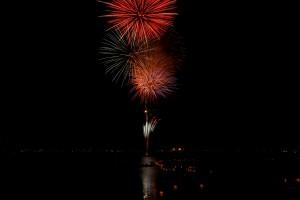 岡谷の花火