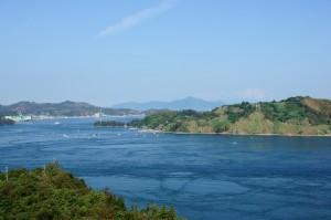 来島海峡大橋より (1)