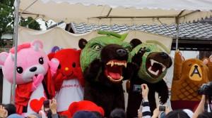 熊系キャラ