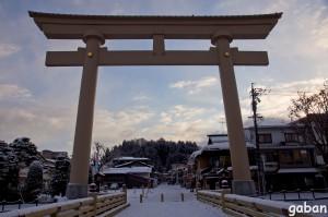 桜山八幡宮表参道